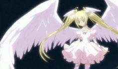 Utau from Shugo Chara in her angel character transformation