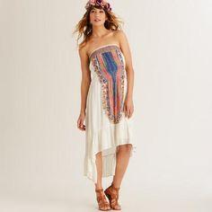 Ivory Medallion Faraa Dress - v1