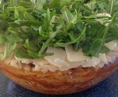 Rezept Spaghettisalat mit Rucola von mausebienchen - Rezept der Kategorie Vorspeisen/Salate