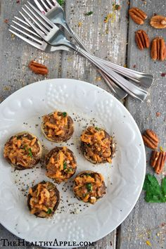 A Healthy Appetizer to Try: Quinoa Stuffed Mushrooms