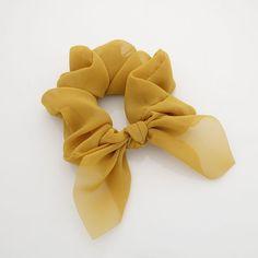 translucent chiffon bow knot scrunchies pretty women scrunchie hair accessory - List of the best Women's Hairstyles Chiffon, Diy Hair Scrunchies, Hair Accessories For Women, Hair Jewelry, Hair Ties, Diy Hairstyles, Pretty Woman, Headbands, Bows