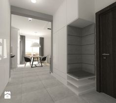 mieszkanie w bloku - Hol / przedpokój - zdjęcie od Am Design Studio projektowania wnętrz