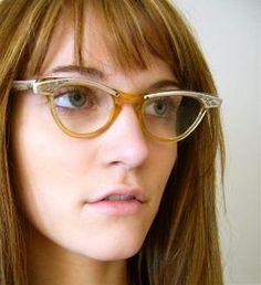 cat eye glasses by lorrie