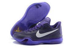 abe0b48c409c Buy Cheap Nike Kobe 10 2015 Purple White Mens Shoes New Releases