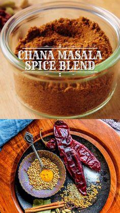 Homemade Spice Blends, Homemade Spices, Homemade Seasonings, Spice Mixes, Chole Masala Powder Recipe, Masala Recipe, Tandoori Masala, Chana Masala, Masala Spice
