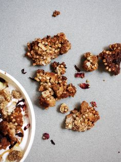 Sprouted Buckwheat And Leftover Nut Pulp Mulberry Granola Gluten Free Function Of Well Nutrition Almond Recipes Granola Gluten Free Granola