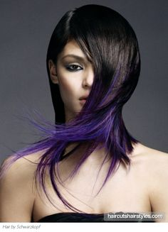 I want some purple in my hair!