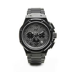 AM149SS MSTR Ambassador - Black / Carbon Fiber Stainless Steel Band Watch