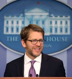 Gene Sperling Joins Jay Carney At White House Press Briefing