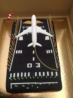 Airport Runway Cake Dominic Birthday Ideas Airplane