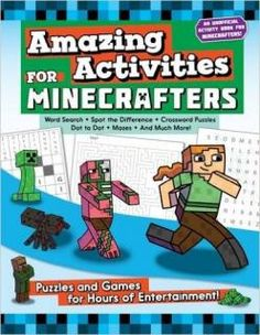 Amazing Activities for Minecrafters  #minecraft #minecraftparty