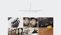 minimalist web portfolio