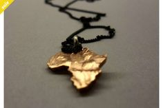 Coin Series - Pendant : Old 1/2 cent, Africa on Sterling Silver Chain  by Kallie on hellopretty.co.za