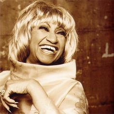 """""""When people hear me sing, I want them to be happy, happy, happy. I don't want them thinking about when there's not any money, or when there's fighting at home. My message is always felicidad - happiness.""""--Celia Cruz"""