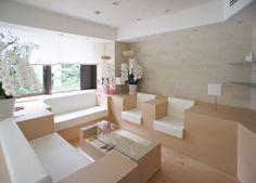 japan-architects.com: 前田圭介による店舗デザイン「王子サーモン銀座店」