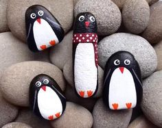 Painted Rock Animals, Painted Rocks, Hand Painted, When Your Best Friend, Winnie, Holiday Break, Pet Rocks, Business Gifts, Stone Art