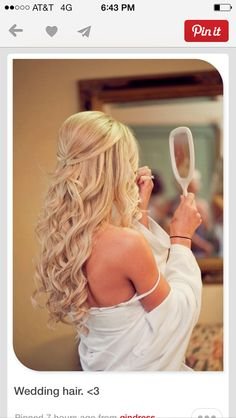 Jackie Pearson ideas wedding hair?!
