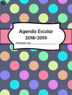 NUESTRA AGENDA ESCOLAR 2018-2019 TOTALMENTE GRATUITA -Orientacion Andujar