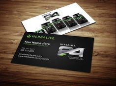 Herbalife Company 24 Business Card Design Cards F1 Nutrition