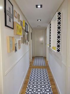 Small hallways, breezeway, home interior design, coridor design, house desi Decor, House Design, Interior, Home, Well Decor, Coridor Design, Entryway Decor, Home Interior Design, Narrow Hallway Decorating