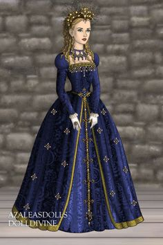 New Character ~ by cidernine ~ created using the Tudors doll maker | DollDivine.com