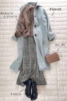 Modesty Fashion, Muslim Fashion, Korean Fashion, Korea Winter Fashion, Winter Fashion Outfits, Mode Chic, Mode Style, Cute Casual Outfits, Chic Outfits