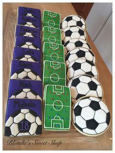 Soccer Team Cookies