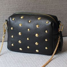 Самая низкая цена! Новинка заклепки женщины сумочку искусственная кожа кроссбоди мешок дизайнер старинные женщин мини-цепи сумка