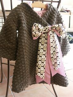 """gorgeous coat for a little girl - """"Thade"""" from Citronille"""