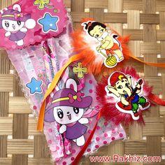 Kitty Stationary Kit With Kids Rakhis Send Rakhi To India, Buy Rakhi Online, Rakhi Design, Online Gifts, Stationary, Snoopy, Kitty, Unique, Little Kitty