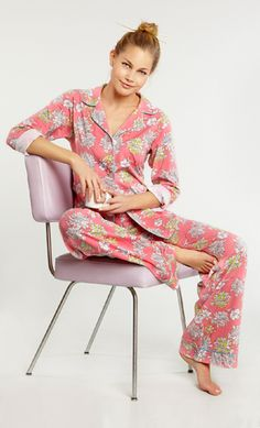 Beautiful Bedhead PJs are perfect for Mom's Day! Pjs, Pajamas, Mom Day, Bed Head, Pj Sets, Savannah Chat, Coral, Lingerie, Boutique