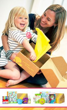 Citrus Lane l Get a surprise box of toys, books, and other goodies for your child every month! Fun gift idea!//