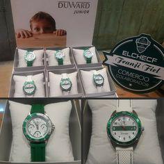 Los niños también quieren su reloj oficial ¡Duward Elche CF Junior! ►http://bit.ly/1oD6826 Foto de DUWARD.