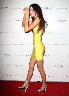 I LOVE Kendall and this dress! Swoon