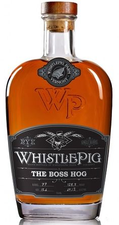 "The new Whistlepig Boss Hog ""Spirit of Mortimer"" rye whiskey is something special. I want this in my collection!"