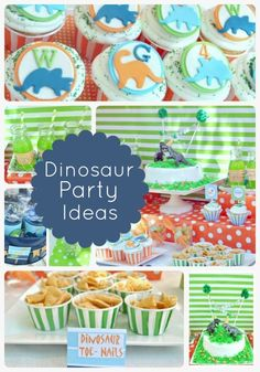A Dino-Mite Dinosaur Birthday Party - Spaceships and Laser Beams