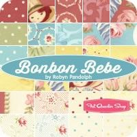 Bonbon Bebe Entire Collection Fat Quarter BundleRobyn Pandolph for RJR Fabrics
