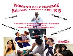 FREE WOMEN'S SELF DEFENSE COMING THIS OCTOBER 2015