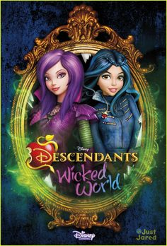 'Descendants Wicked World' Animated Series Coming To Disney Channel In September!