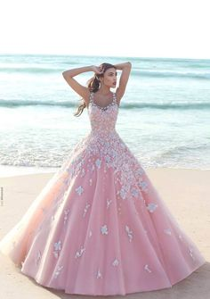Beautiful seaside dress