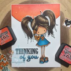 Haystack Cards: Tiddly Inks: Thankful Heart Wryn