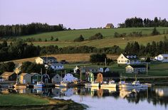Prince Edward Island in Canada (Quebec), home to Anne of Green Gables. Oh The Places You'll Go, Places To Travel, Places To Visit, Travel Pics, Travel Ideas, Anne Shirley, Prince Edward Island, British Columbia, Monuments