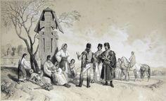 Wallachian uprising of 1821 Romania, 4 Martie, Mount Rushmore, Costumes, Folk Costume, Tudor, 26 August, Photography, Painting