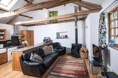 Honeypin, South Torfrey Organic Farm, Cornwall. Created from the original stone and slate wagon house, this single storey cottage is bright and spacious http://www.organicholidays.com/at/2262.htm