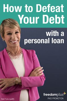 Pay off your credit card debt with a personal loan. Fixed rate APR as low as 4.99% (terms apply). You could save thousands on interest with lower, fixed monthly payments that fit your budget. Start by answering a few questions to see if you qualify.