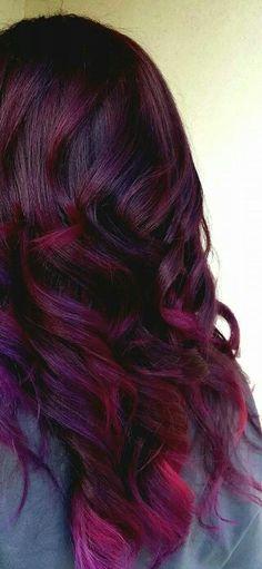 Deep & bright plum, red, & cherry