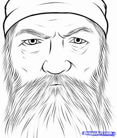 Duck Dynasty People Coloring Pages