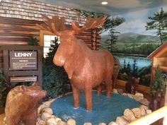 7. The World's Only Life-Sized Moose, Scarborough