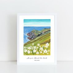 New products have arrived in store Vw Minibus, Irish Landscape, Fruit Art, Art Store, Pigment Ink, Beautiful Islands, Design Crafts, Gouache, Watercolor Paper