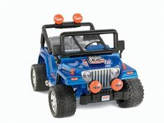Power Wheels Hot Wheels Jeep Wrangler. You might just see your children having many hours of fun with this jeep toys... . A gift idea - 12 Volt Ride On Toys